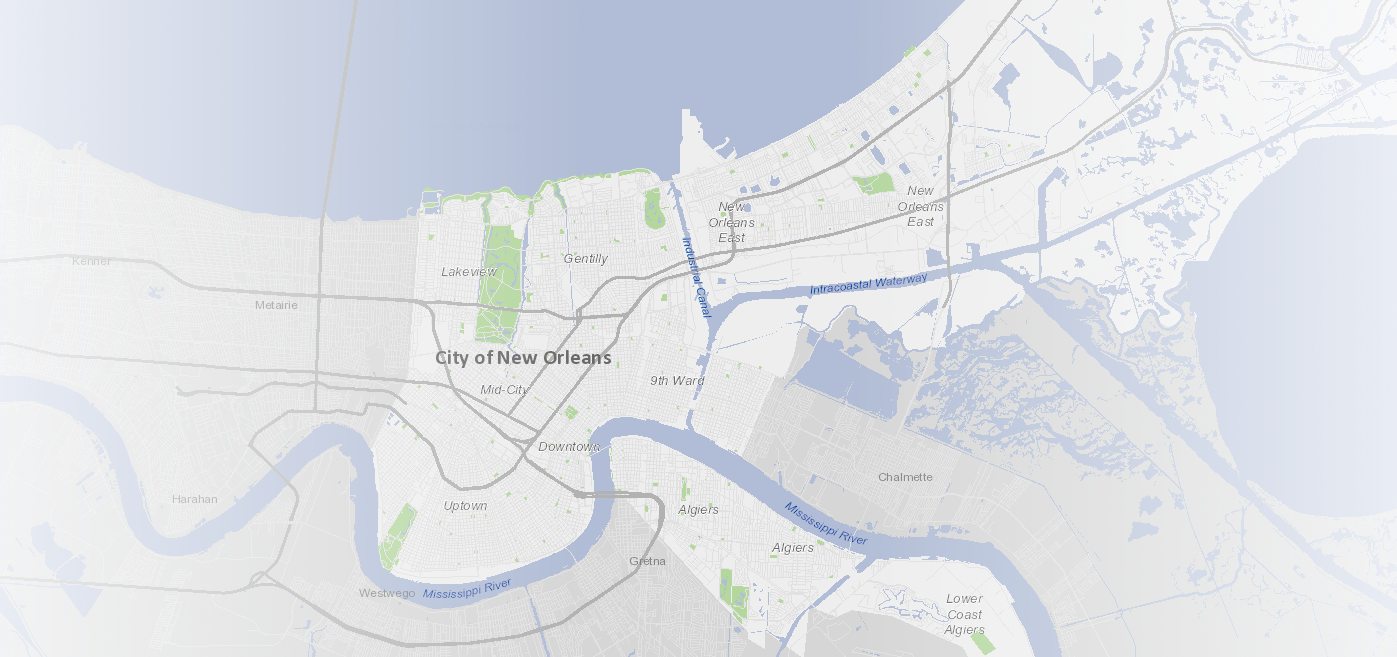 Bike Lanes | City of New Orleans Open Data Portal